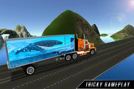 100 Truck Tracks Impossible Sea Animals Transport For Android APK