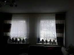 gardinen mit seitenschals raffhalter