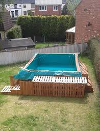 Cost Effective Pallet Outdoor Swimming Pool