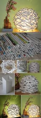 Home Decoration With Newspaper 3