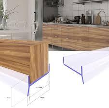 steigner küchenleiste küchensockel dpd abdichtungsprofil sockel 15mm 16mm 17mm dichtung erneuern 1 5m dichtprofil braun