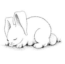 Free Printable Coloring Pages For Kids Sleeping Bunny Check Out Our Animal