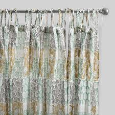 Chiffon Curtains Online India by Curtains Drapes U0026 Window Treatments World Market
