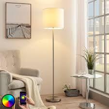 lindby smart led floor l everly app rgb