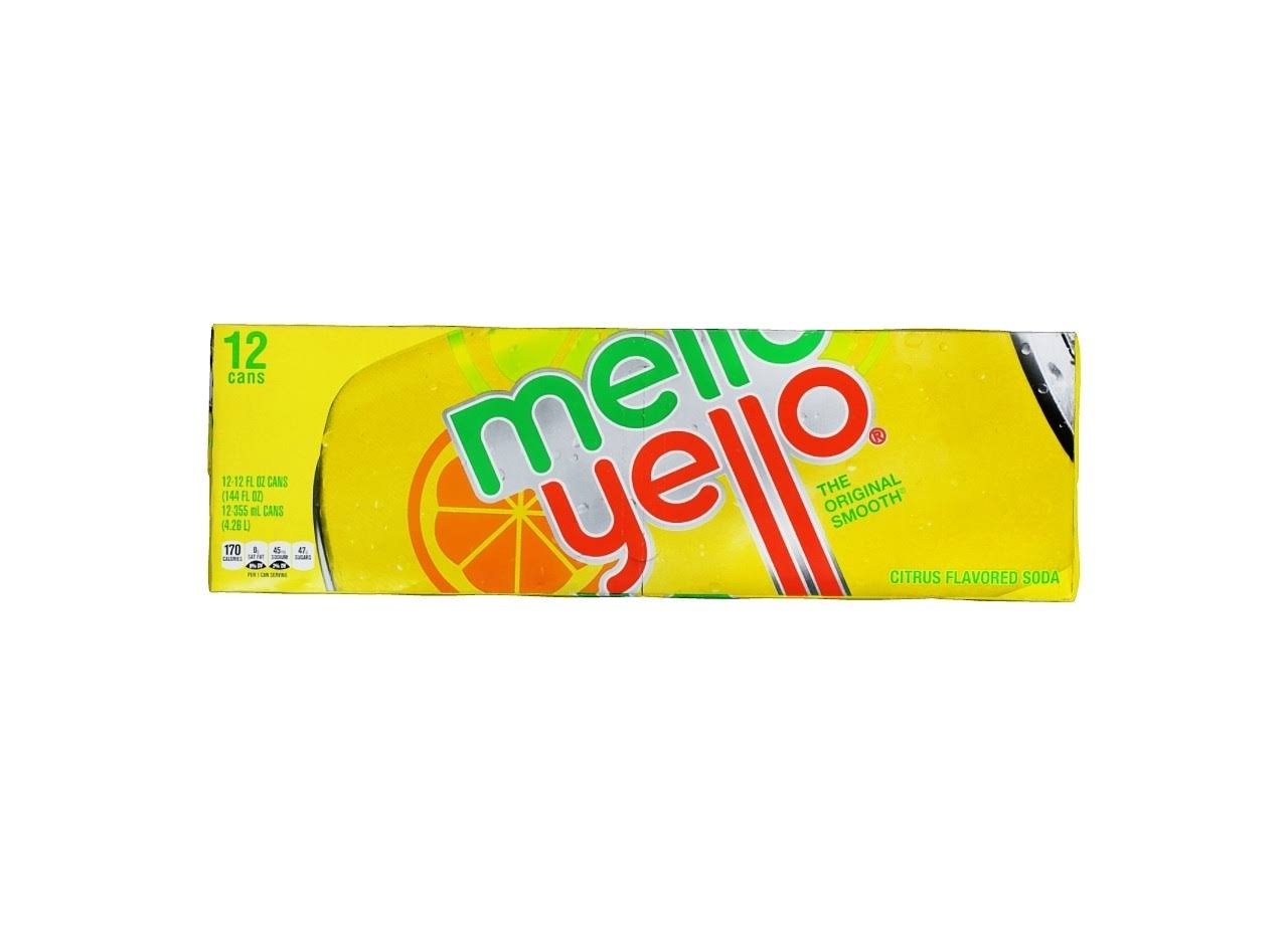 Mello Yello Soda - Citrus Flavored