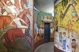 Coit Tower Murals Restoration by Memorial Tower Architectural Rehabilitation Arg