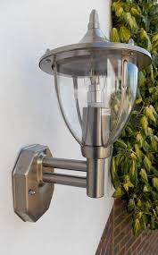 stellus centurian wl pc stainless steel outdoor wall light with
