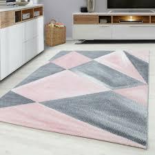 rugs carpets moderner designer wohnzimmer teppich pink