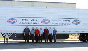 Utility Trailer Manufacturing Celebrates 50 Years In Clearfield ... Side View Of Bright Red Big Rig Semi Truck Fleet Transporting Cargo Playbox Utah Game And Trailer Virtual Reality Event Cotant Truck Lines Pocatello Id 1940s Kenworth Fulltrailer 8x10 2017 J L 850 Utah Doubles Dry Bulk Pneumatic Tank For Salt Lake City Restaurant Attorney Bank Drhospital Hotel Dept Is Utahs Truck For Video Birthday Heavy Tires Slc 8016270688 Commercial Mobile Tire Police High Speed Pursuit Stolen Dump With Stand Used Semi Trucks Trailers Sale Tractor Moving Rental Ut At Uhaul Storage Salt Lake Driver Experiencing Coughing Episode Crashes Into Embankment