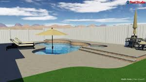 100 Kd Pool KD And Spa With Cantilever Coping