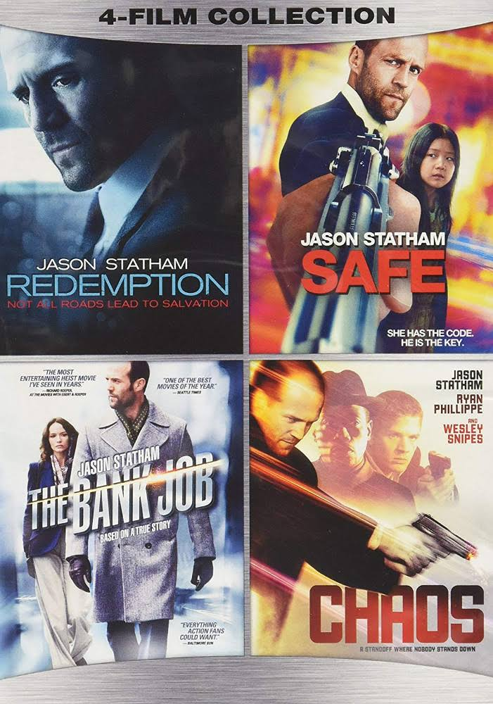 Redemption / Safe / The Bank Job / Chaos - DVD