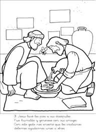 New Coloring Pages Free Page Jesus Washes Disciples Feet The