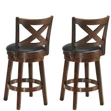 24 In Wooden Bar Stools Really Encourage Costway Set Of 2 ... Chair 34 Tremendous Metal And Wood Ding Chairs Best Discount A8450 European Style Chair Modern Ward Ding Chair Contemporary Industrial Transitional Midcentury Dering Hall Anders Dc 007 Art Deco Amazoncom Oak Street Manufacturing Sl2130blk Frame Tig Barrel Copine In American White Vacuum Plating Champagne Gold Stainless Steel Mcssd9187oakgold Sanctum Round Armrest Joanne Ding Solid Table Set 4 Piece Ji Free Installation Basic Trainee Folding Black Designer Chairconference Chairexhibition Chairpantry