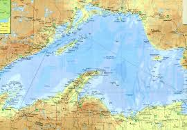 Where Did The Edmund Fitzgerald Sank Map by Map Hero U0027s Laminated Gitche Gumee Been There Seen That