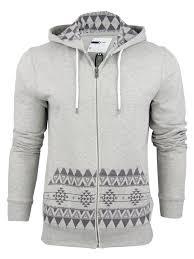 mens d code u0027bob u0027 aztec hoodie hooded sweater jumper ebay