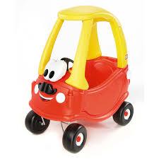 Little Tikes Mr. Cozy Coupe With Moustache, Red - Walmart.com