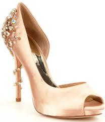 antonio melani carean jewel detailed peep toe pumps dillards