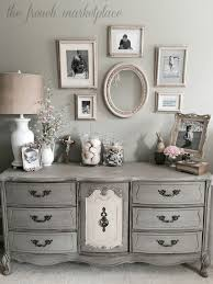 Musings From A French Cottage Master Bedroom Makeover I Like The Gray Furniture And Walls