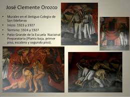Jose Clemente Orozco Murales San Ildefonso by Muralismo Mexicano