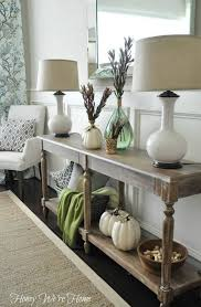 the art of arranging vignettes front entry woods and natural