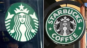 The Latest Starbucks Logo Left And Old One