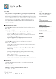 Medical Support Assistant Resume Templates 2019 (Free ... 89 Examples Of Rumes For Medical Assistant Resume 10 Description Resume Samples Cover Letter Medical Skills Pleasant How To Write A Assistant With Examples Experienced Support Mplates 2019 Free Summary Riez Sample Rumes Certified Example Inspirational Resumegetcom 50 And Templates Visualcv