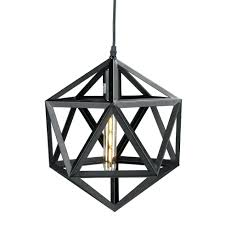 Geometric Lamp Lampshade Designs Diy Black