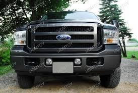 ford f150 yellow 3000k led fog lights ijdmtoy for