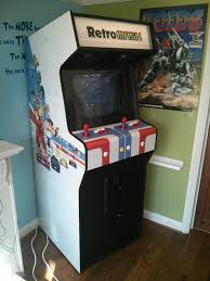 4 Player Arcade Cabinet Blueprints by Building A Home Arcade Machine The Final Cabinet Retromash