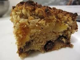 dessert cake crumble aux pommes noisettes et chocolat à voir