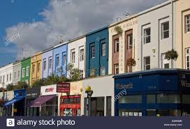 100 Westbourn Grove E Notting Hill London England UK Stock Photo 9596298