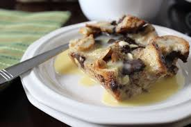 Bobby Flay Pumpkin Bread Pudding by White And Dark Chocolate Bread Pudding With Nola Bourbon Sauce