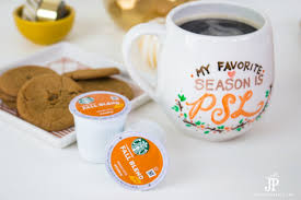 Dunkin Donuts Pumpkin K Cups Amazon by Diy Mug With Hand Lettering My Favorite Season Is Psl