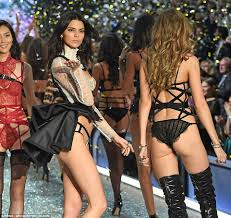 Victorias Secret Halloween Panties 2017 by Gigi Hadid And Kendall Jenner In Skimpy Underwear At Victoria U0027s