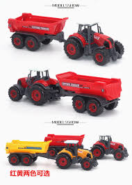 100 Toy Farm Trucks And Trailers Alloy Sliding CHILDRENS Er Car Tractor Spraying Car