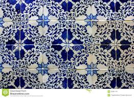 blue and white tiles lisbon portugal stock image image 25991141
