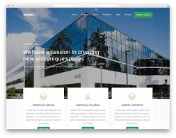 100 The Architecture Company Square Free Website Template 2020