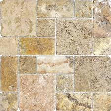 scabos travertine floor tile scabos travertine pattern mosaic