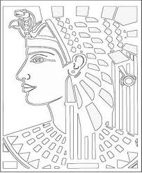 Ancient Egyptian Coloring Pages 061611 Clip Art