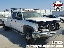 100 Subway Truck Parts Used 2004 Chevrolet Silverado 3500 60L 4x2