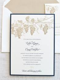 Our winery themed wedding invitation is a wonderful choice for a