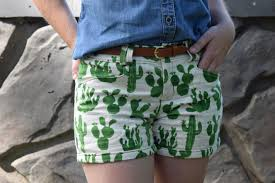 Techniques By Trish September 2014 by Cactus Print Gina Shorts U2013 Trish Stitched