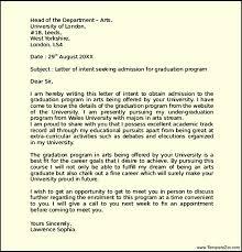 Marvelous Grad School Letter Intent In Letter Intent