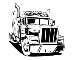 Semi Truck Truck Wheeler Wheeler | Sohadacouri Semi Truck Outline Drawing How To Draw A Mack Step By Intertional Line At Getdrawingscom Free For Personal Use Coloring Pages Inspirational Clipart Peterbilt Semi Truck Drawings Kid Rhpinterestcom Image Vector Isolated Black On White 15 Landfill Drawing Free Download On Yawebdesign Wheeler Sohadacouri Cool Trucks Side View Mailordernetinfo