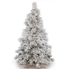 Pre Lit Flocked Christmas Tree Uk by Decorations Pre Lit Christmas Tree Clearance Walmart Artificial