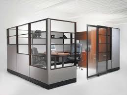 Modular glass cubicle