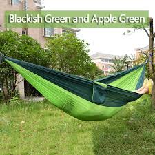 e Person Parachute Nylon Fabric Hammock Outdoor Garden Yard