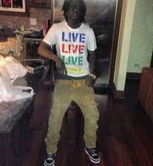 Everyday Is Halloween Chief Keef Instrumental by Chief Keef Wearing Air Jordan Iii Bright Crimson Men Swagger