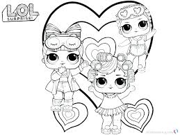 I Love You Baby Coloring Pages New Free Printable Lol Surprise Dolls Doll Unicorn Good Or Cute