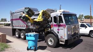 City Of Phoenix ⇨ NEW CNG DaDee Scorpion ASL Garbage Truck - YouTube